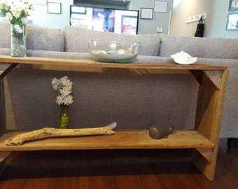 Barn Wood Sofa Table (For local pickup/delivery only)