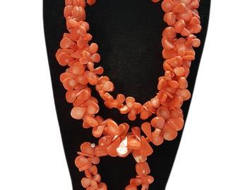 Beautiful pearl shard jewellery set