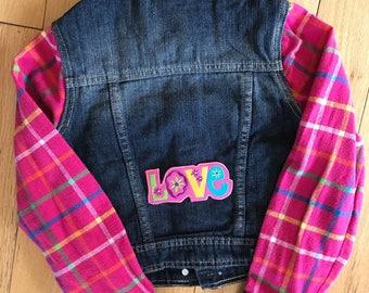 Custom girls denim jackets