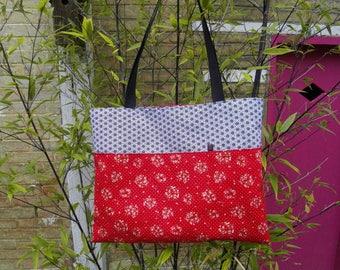 "Tote bag / Tote bag ""Strawberry Melba""."