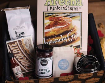 Subscription Box for Foodies, Gourmet Gift Box for Cooks, House Warming, Wedding, Holiday