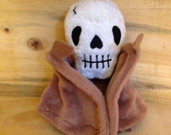Camazotz the Death Bat, unique stuffed bat/skull hybrid