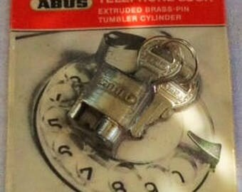 VINTAGE ABUS TELEPHONE Lock