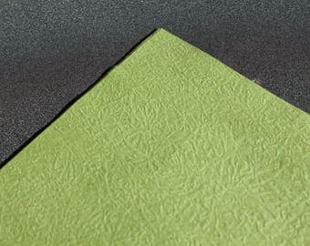 5 sheets 15cm x 15cm for origami - Green