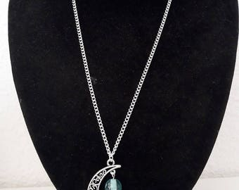 Silver Clasp chain necklace