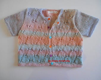 jacket with short sleeves