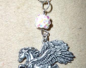 horse pendant winged pegasus