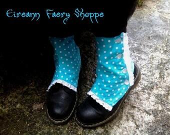 "Victorian style spats ""Alice in Wonderland"""