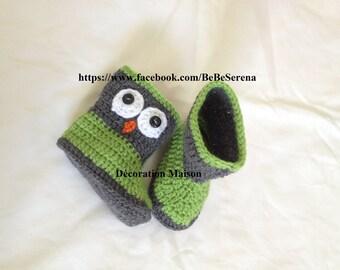 Boots the little green OWL hook