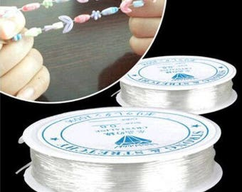 thread elastic Crystal 0.6 mm in diameter, 10 meter