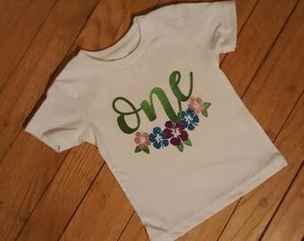Luau Birthday Shirt