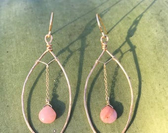 Pink Coral & Gold
