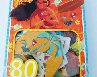 80 stickers Thomas MOANA Disney stickers stickers