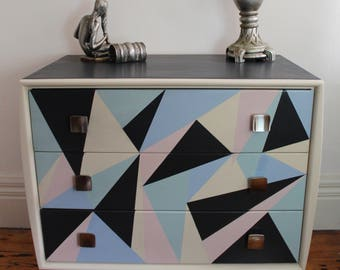 Retro Vintage Alrob chest of drawers