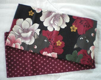 Fat quarter fabric Japanese set of 2 coupons