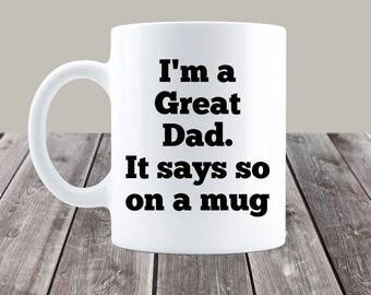 dad mug, funny dad mug, gift for dad, gifts for dad, dad mugs, funny dad mugs, dad coffee cup. dad coffee mug, dad present, father's day mug