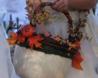 Flower girl basket fall