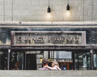Quincy Market Place, Boston MA, Massachusetts, city, shopping, shop, wall decor, fine art photography, photography