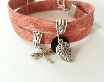 Bracelet liberty real small dragonfly