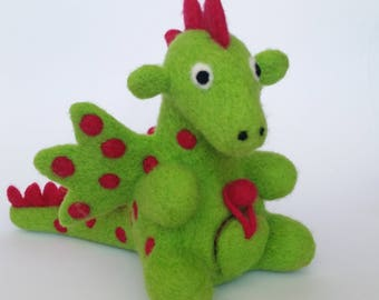 Felted Dragon with secret compartment