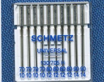 Needles n 70-80-90 for standard Schmetz sewing machine