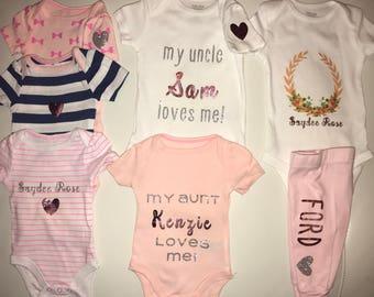 Cute Baby Onesies - Single or Sets