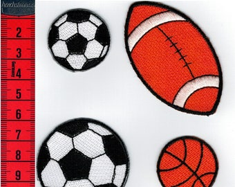 Set of four Thermo sport coats or sew on Patch Applique