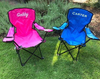 Kids Personalized Folding Chair