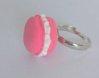 Pink Macaron ring-