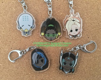 Overwatch Support charms