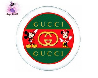 Gucci with Mickey & Minnie Mouse Dinnerware Package | Plates, Cups, and Napkin Rolls with Utensils | Customizable