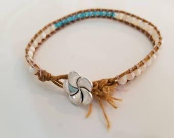beaded bracelet boho handmade