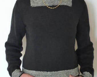 KNIT - SWEATER VINTAGE UNSEEN TUTORIAL SHEET