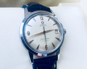 Omega Vintage mens Seamaster Automatic Gents Watch cal 503 Very rare from 1961