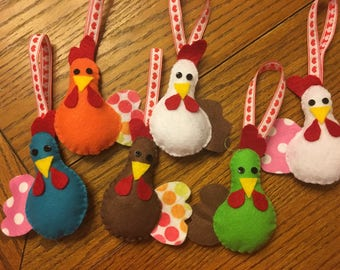 Chicken Ornaments