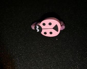 143. Ladybird ring