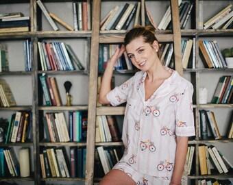 Cotton pajama bicycle