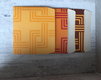 Set of Envelopes from embossed paper, 9 pieces