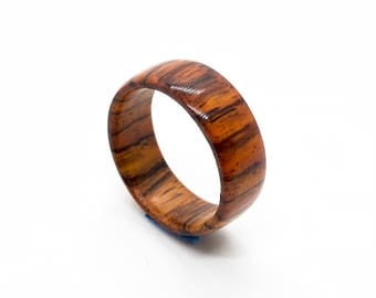 Cocobolo Wooden Ring / Male Rings / Female Rings