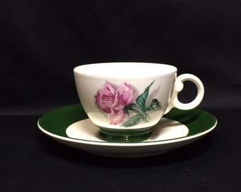 Rhythm Rose Cup and Saucer Taylor Smith Taylor - 6 sets available