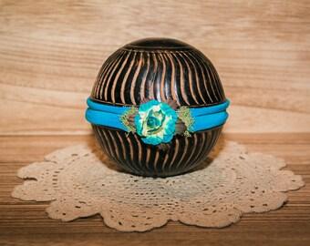 Newborn Floral Jersey Knit Headband Photography Prop