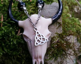 """Spirit Funeste"" long necklace"