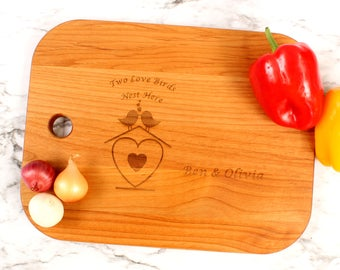 Customizable Engraved Cutting Board,Valentine's Day,Gift For Husband,Gift For Wife,Gift For Couple,Wedding Gift,Gift For Him