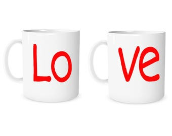 Custom Mug Personalized Love Mug  Love  Custom Mug Coffee Mug Valentine Mug Personalized Gift Mug Anniversary Mug Christmas Gift