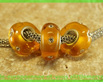 Has HQ211 European glass bead for bracelet necklace charms