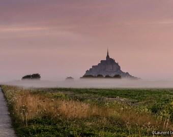 Dawn on the Mont Saint Michel