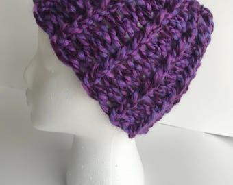Handmade Knitted Beanie Item #4013