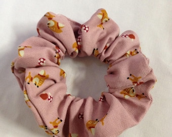 Darling old pink with Fawn/deer