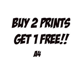 Digital print, art print, pop Art, pop culture print, wall print, Digital painting