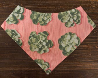 Suc-cute-lent pet bandana
